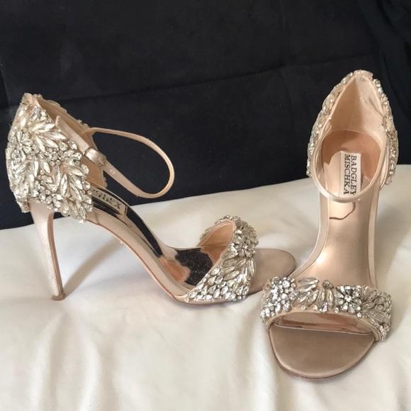 223f3edbe61e9 Badgley Mischka Shoes | Tampa Ankle Strap Sandal 7 | Poshmark